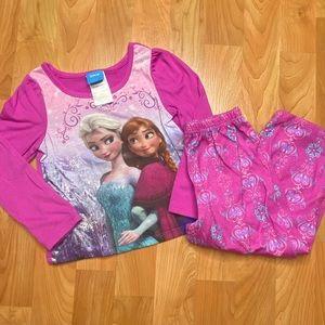 4/$20 - Toddler Girls Elsa & Anna Frozen Pajamas